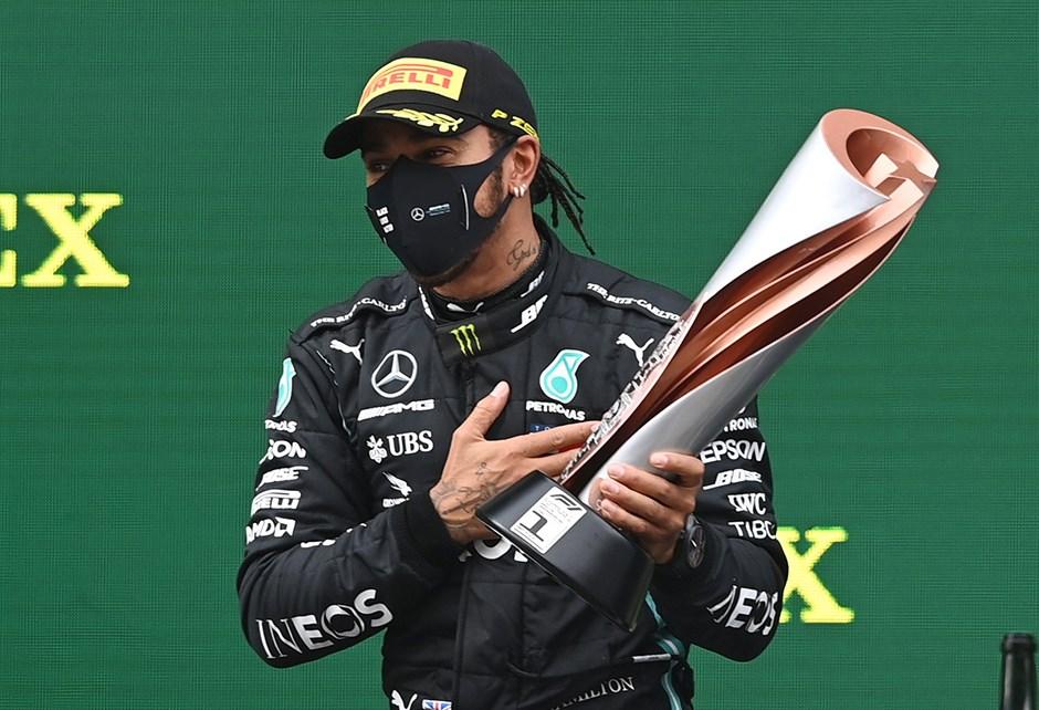 Lewis Hamilton ve İstanbul'da Tarihi Şampiyonluk