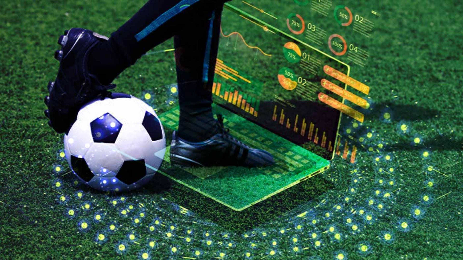 Futbol endüstirisi için kullanılan bir görsel.