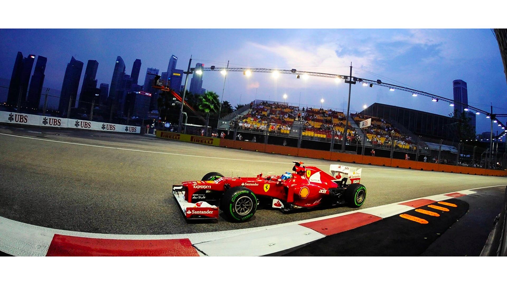 Formula 1 aracının görseli.