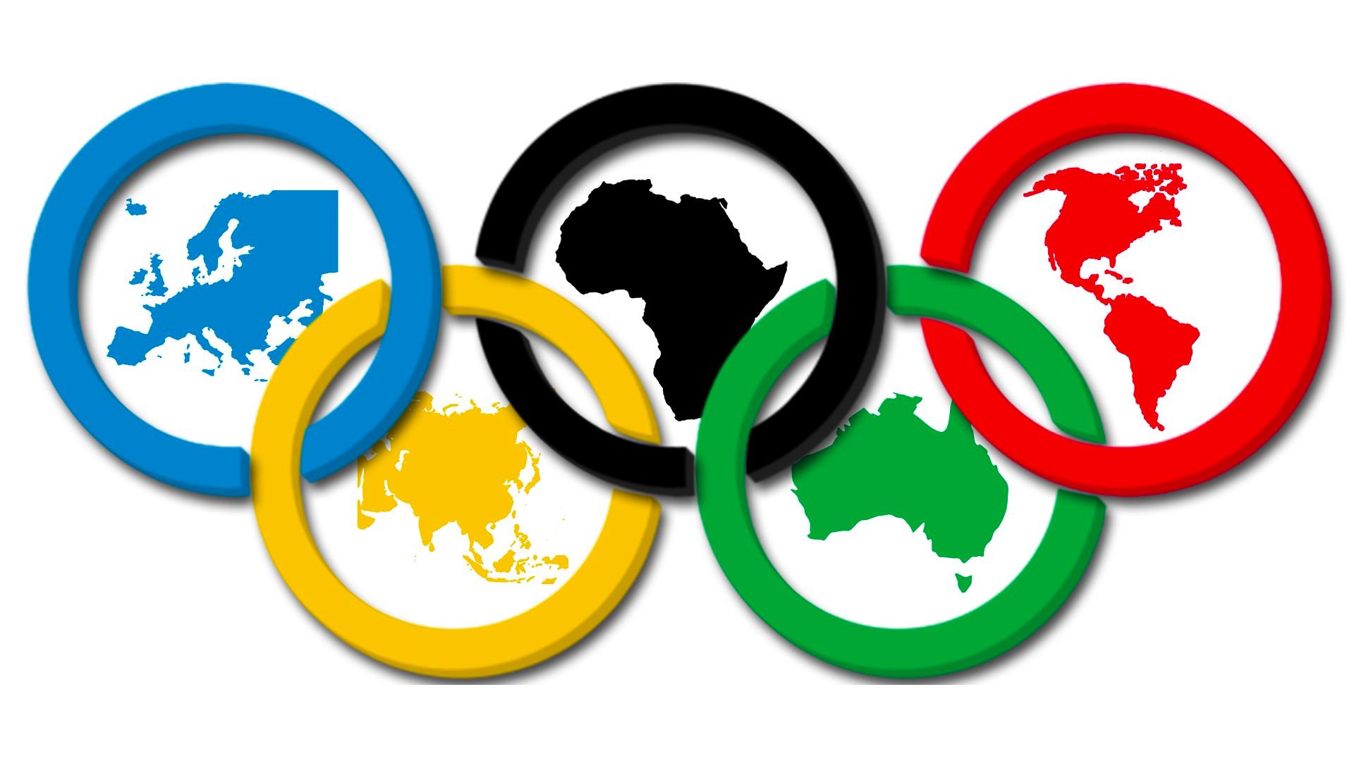 Olimpiyat logosuna ait bir görsel.