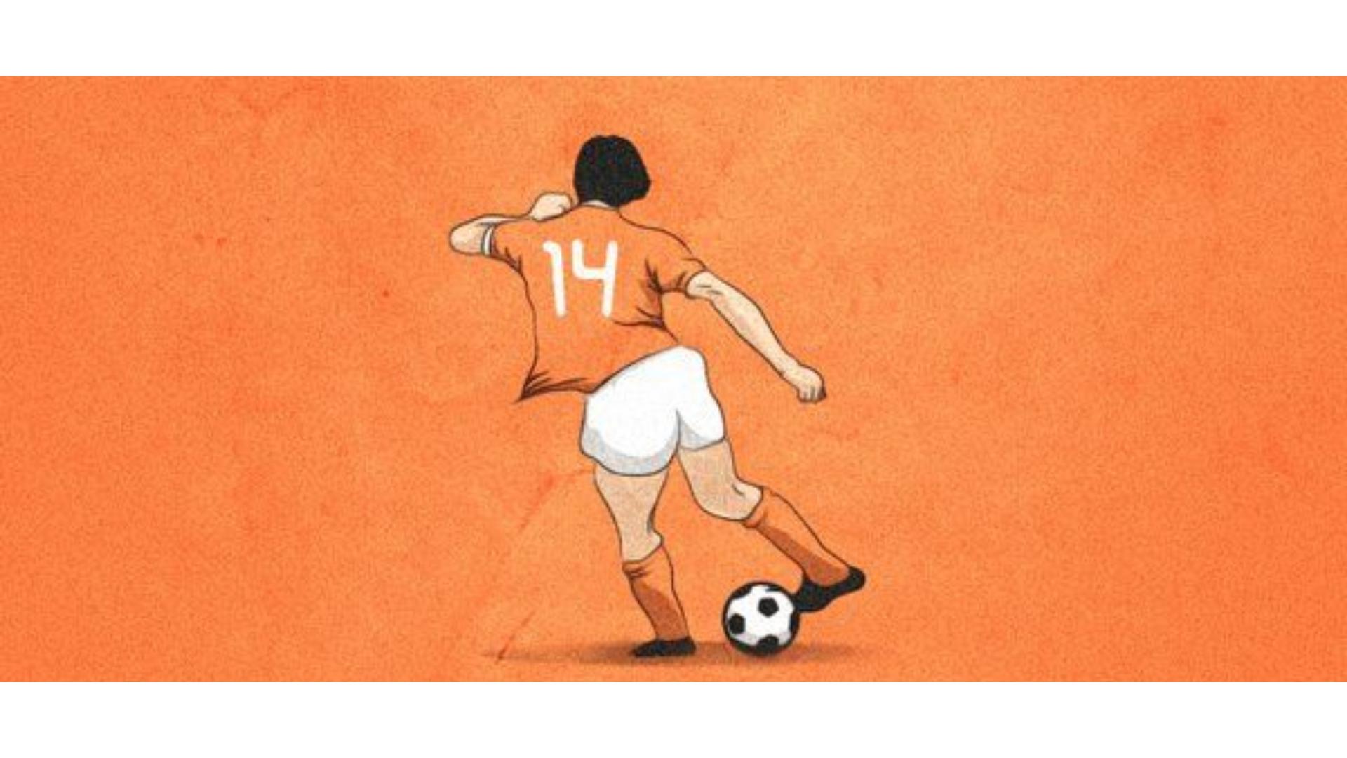 cruyff dönüşü harekeni gösteren bir çizim görseli.