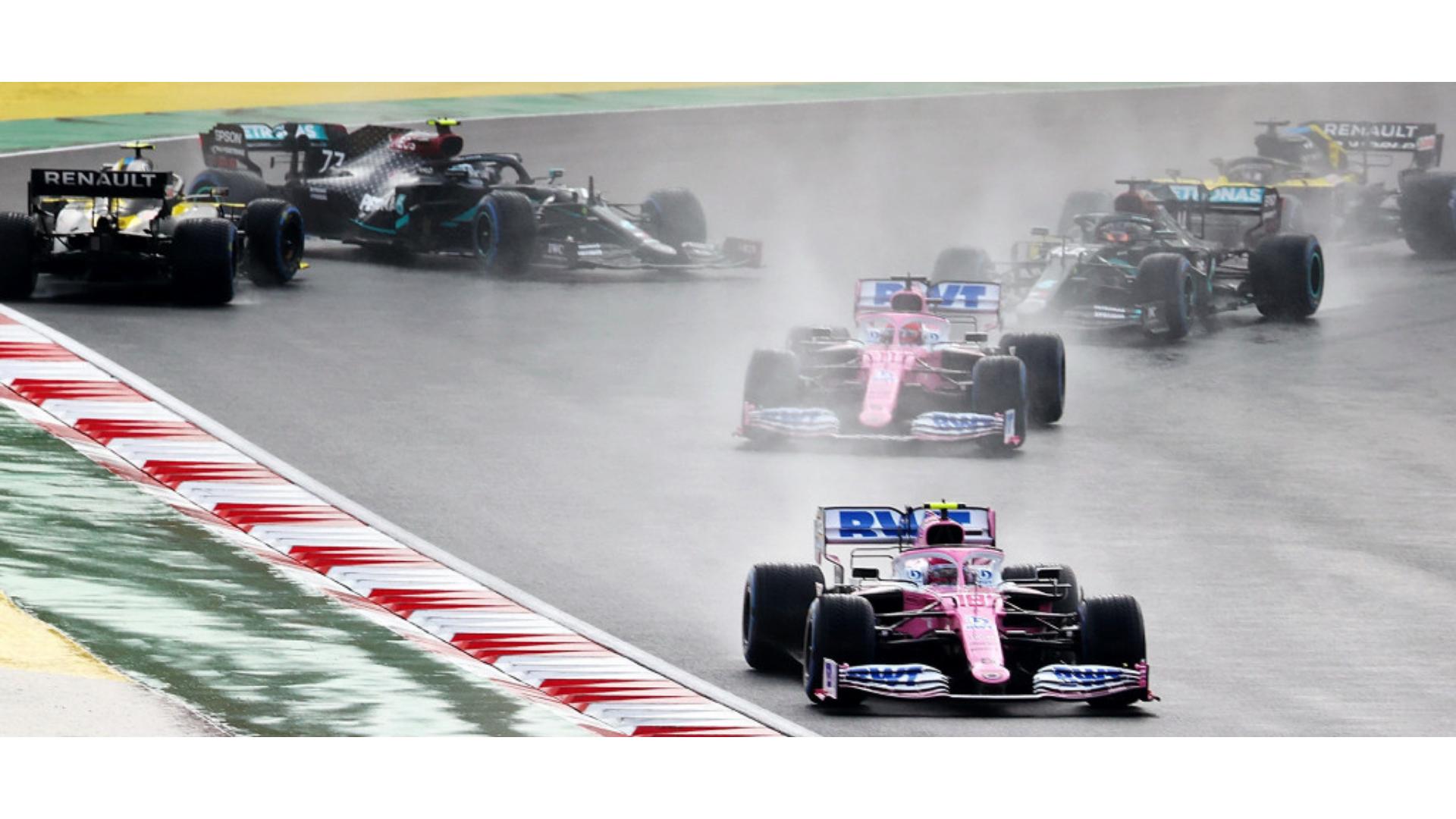 2020 Türkiye GP'si anlarında çekilen bir görsel.