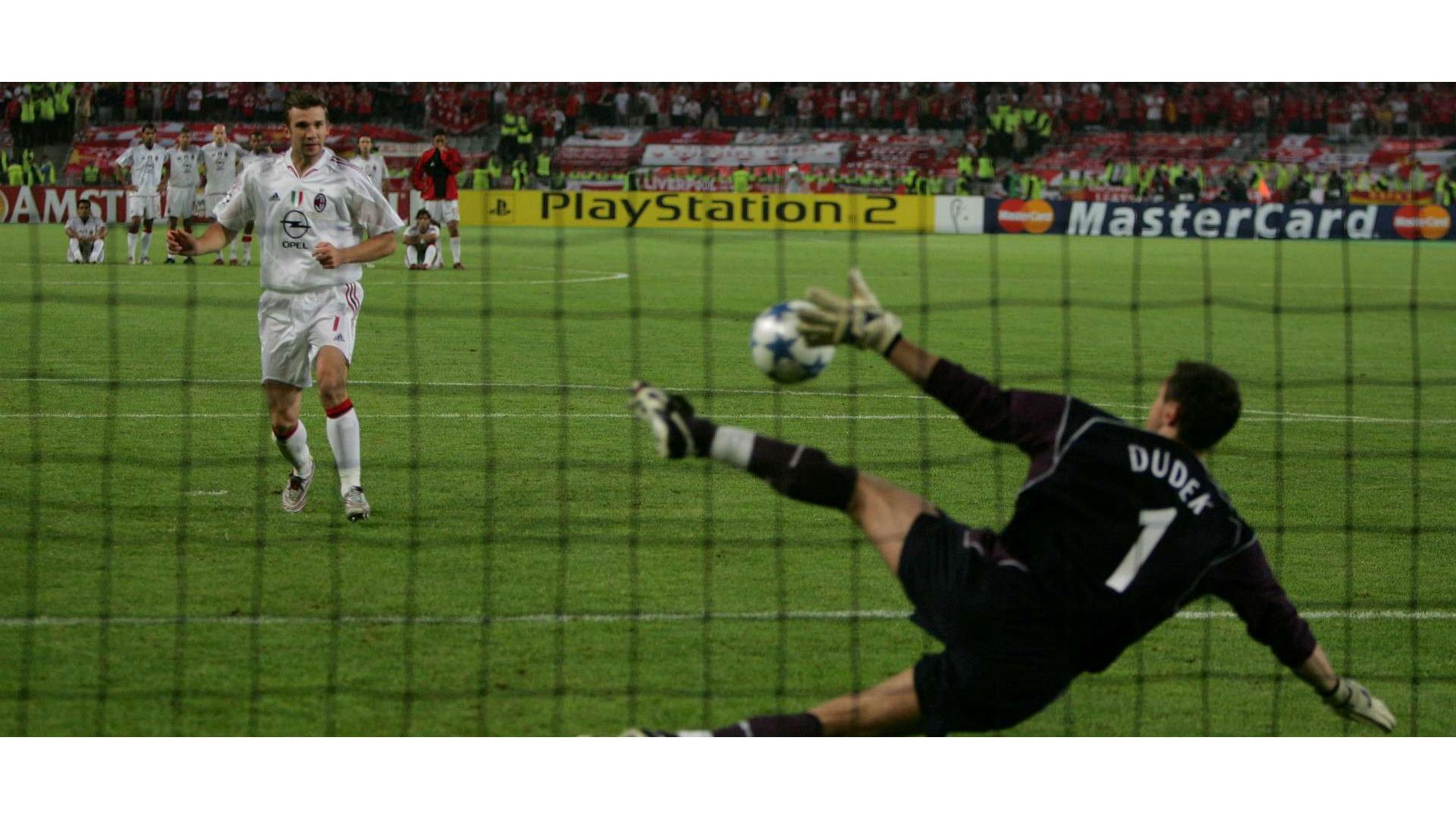 Penaltı anına ait bir görsel.